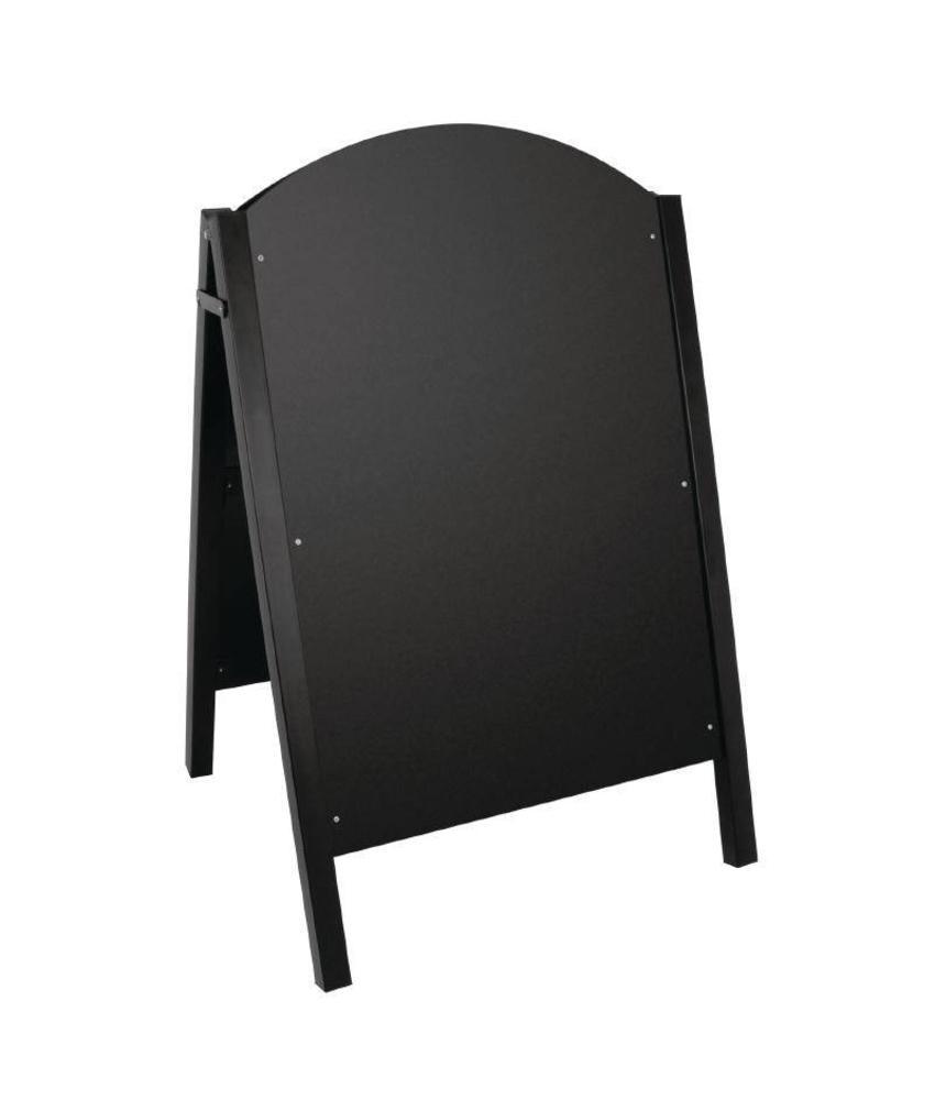 Olympia Olympia stoepbord met zwart metalen frame