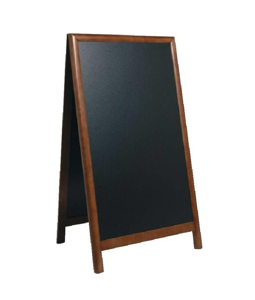 Securit Securit stoepbord bruin sandwich 80x135cm