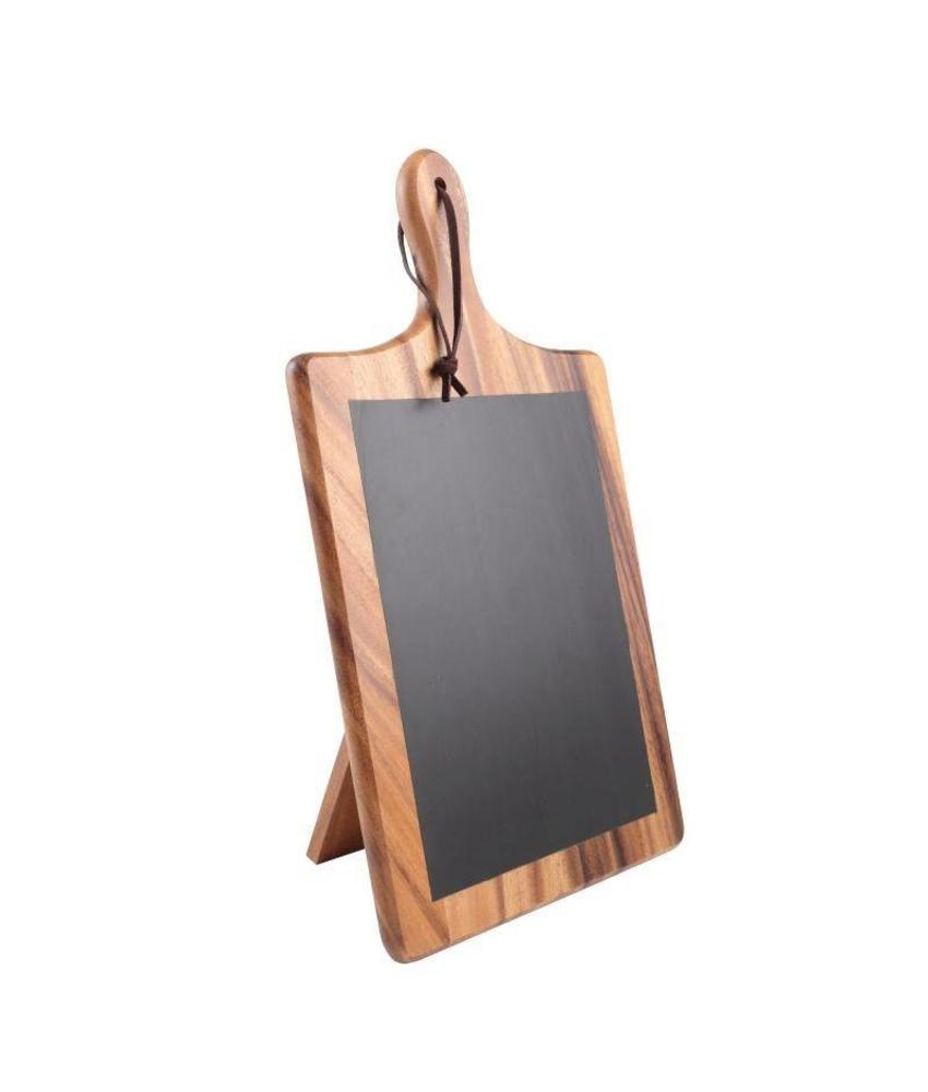 T&G Woodware T&G Woodware Toscaanse Krijtbordplank met standaard