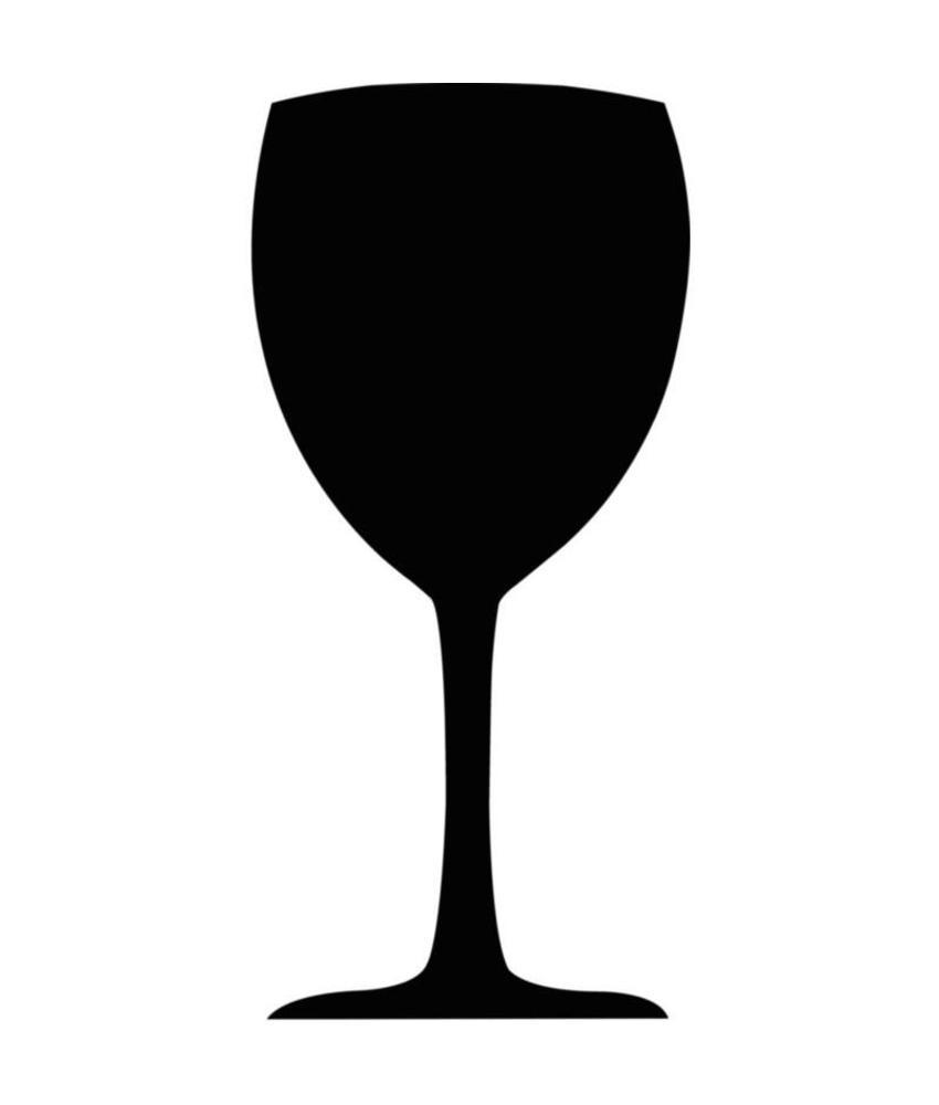 Securit Securit 'wijnglas' krijtbord 50x24cm
