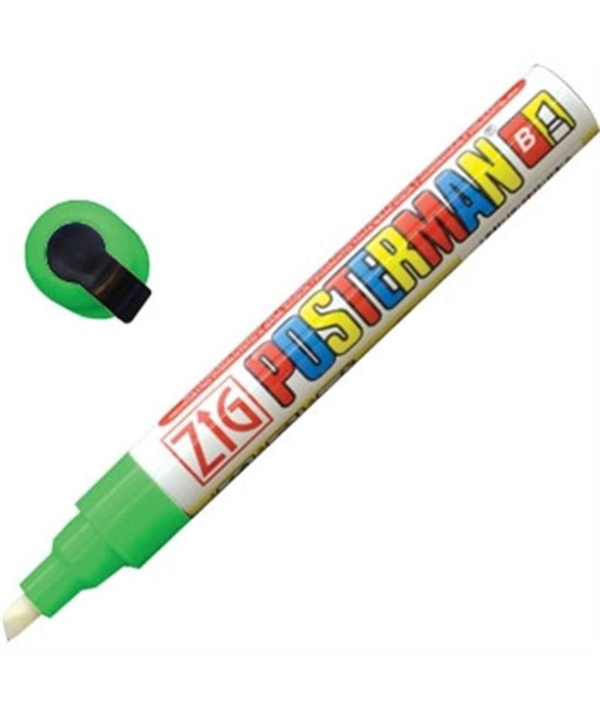 Securit Zig Posterman weerbestendige krijtstiften groen 6mm