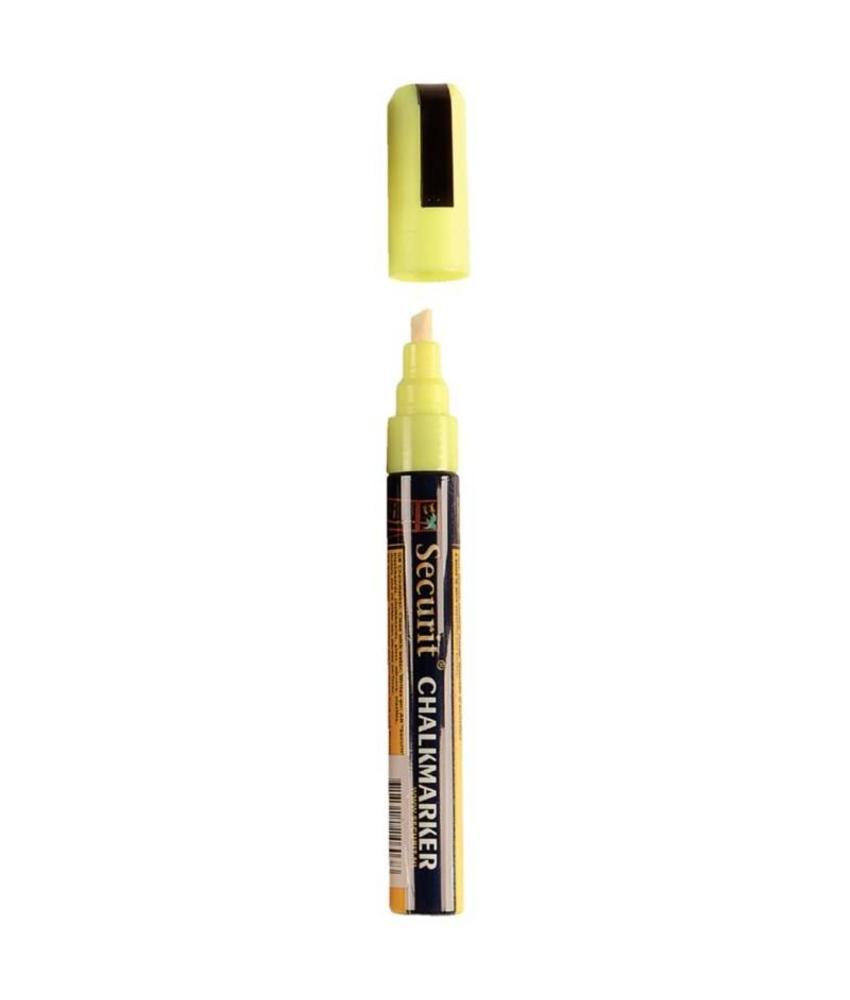 Securit Wisbare krijtstiften 6mm geel