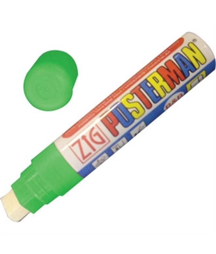 Securit Zig posterman weerbestendige stift groen 15mm