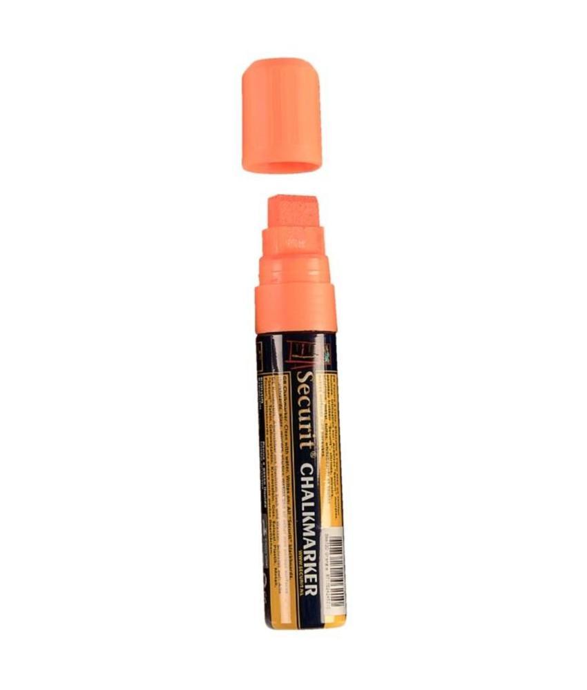 Securit wisbare stift oranje 15mm
