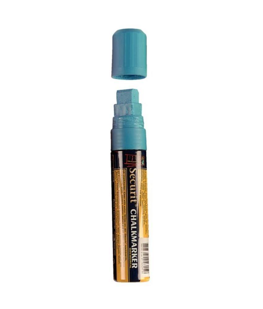 Securit wisbare stift blauw 15mm