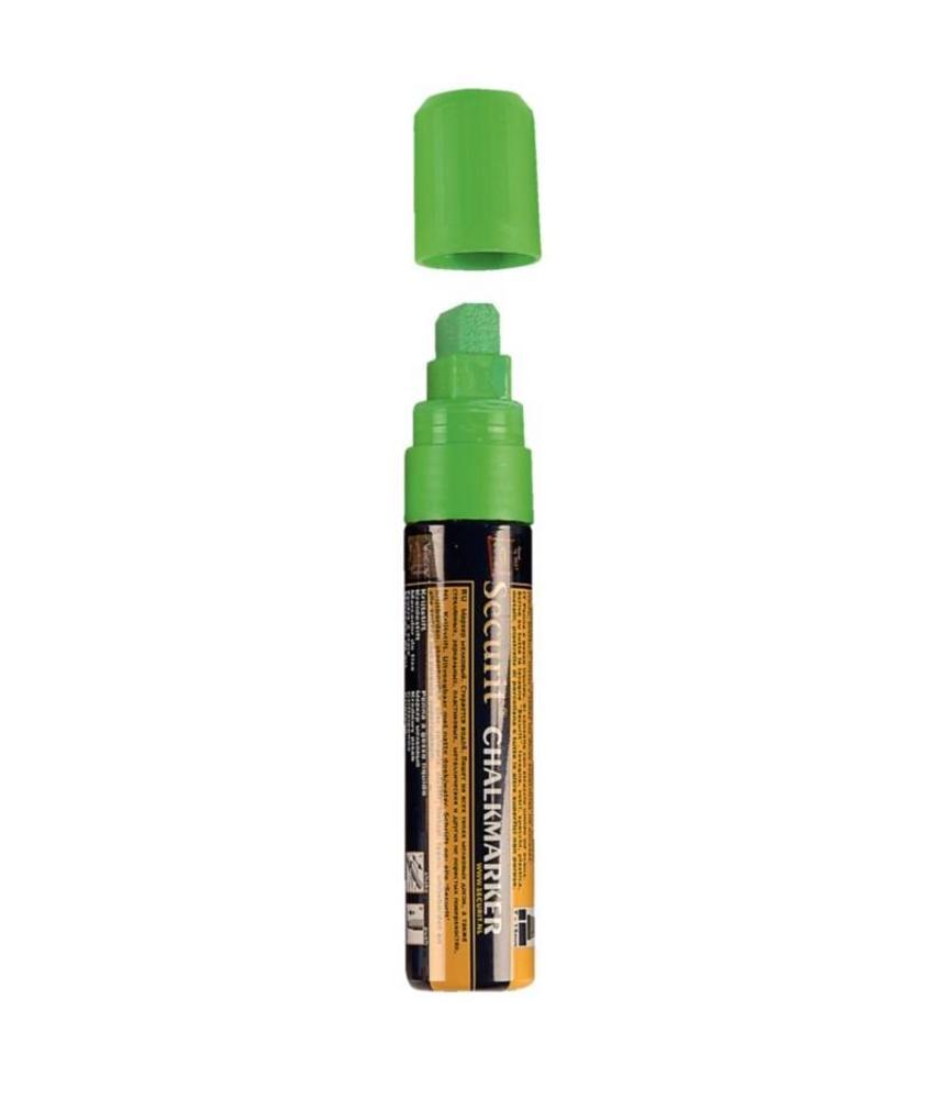 Securit wisbare stift groen 15mm