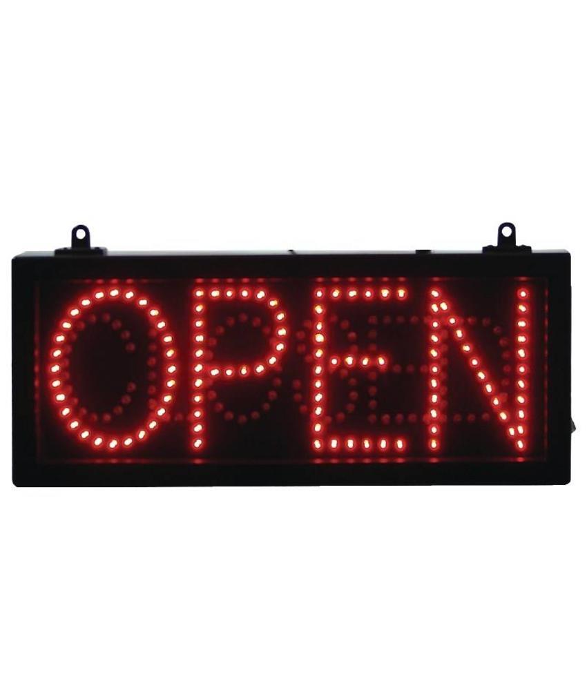 LED-displaybord OPEN CLOSED