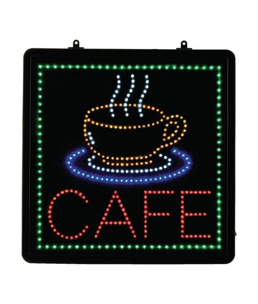 LED-displaybord CAFE