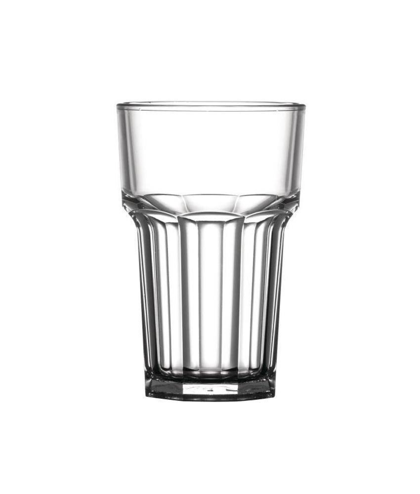 BBP Polycarbonaat glas 28cl 36 stuks