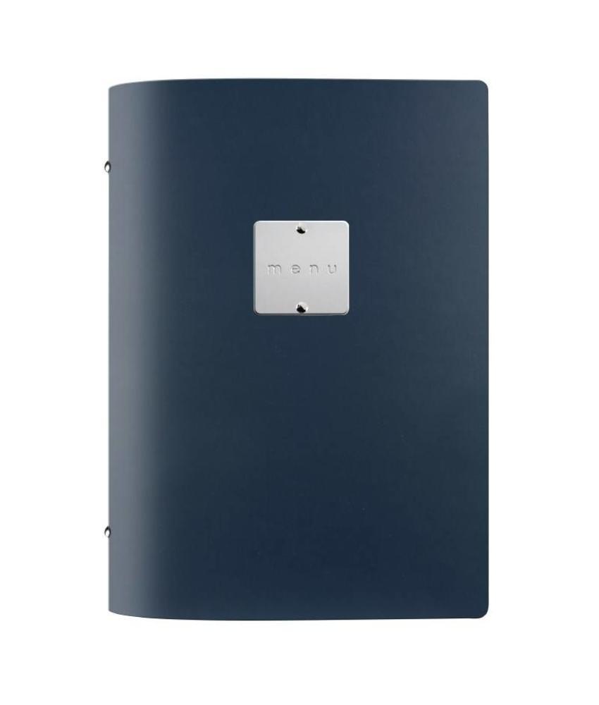 DAG Fashion menuhouder blauw A5