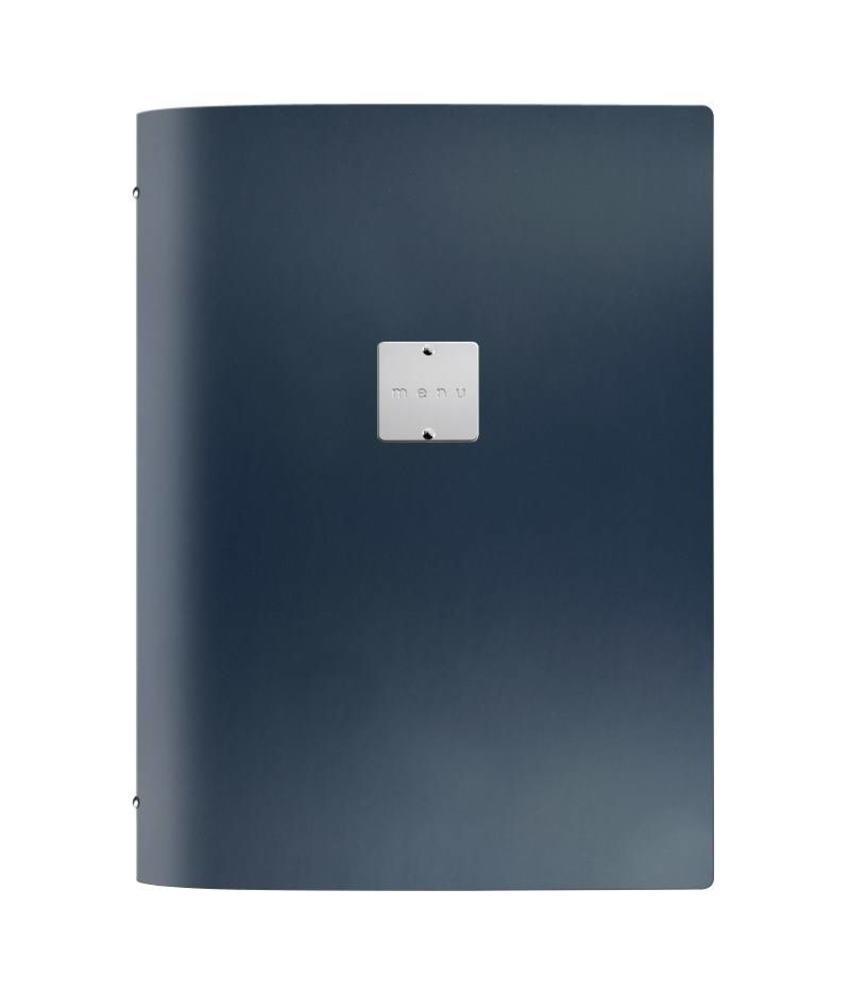 DAG Fashion menuhouder blauw A4
