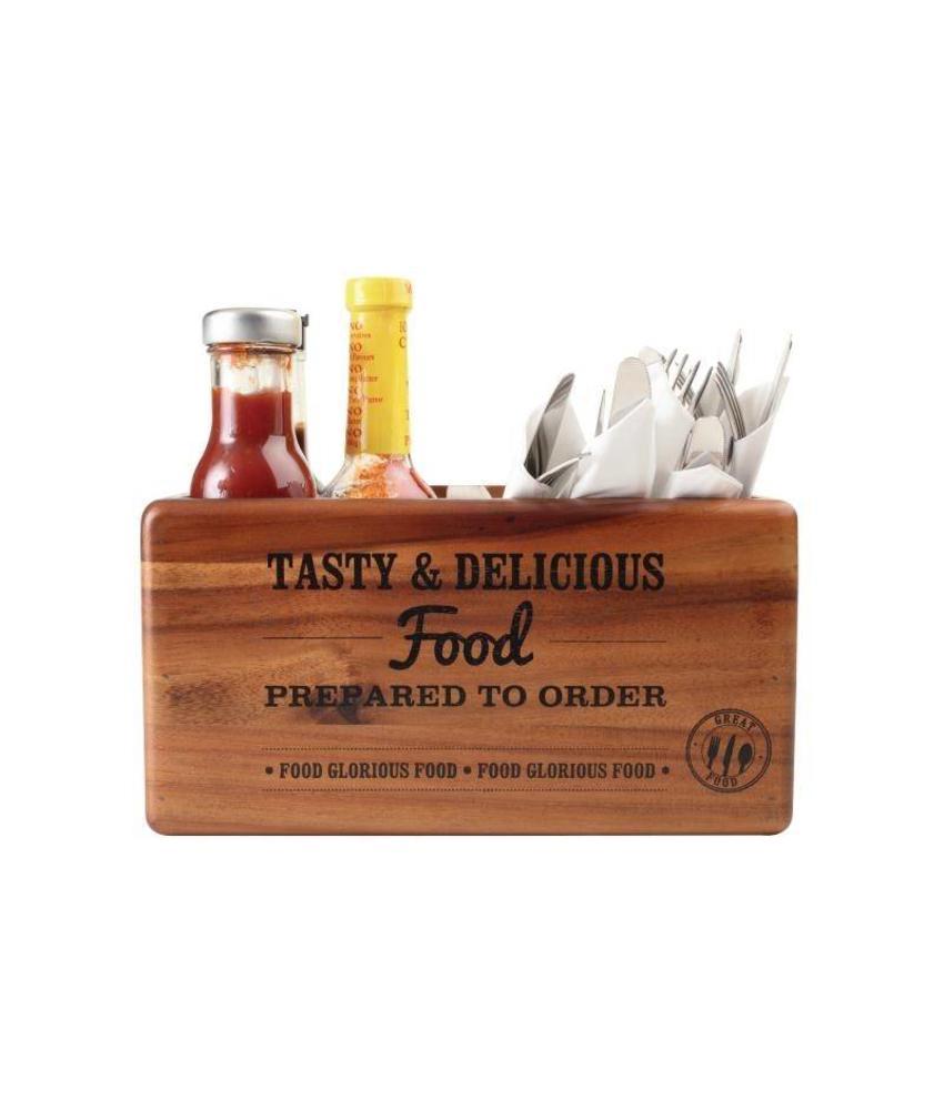 T&G Woodware T&G Woodware tafelorganiser met krijtbord