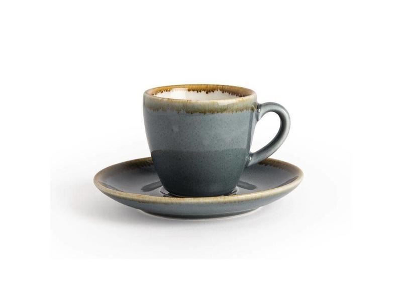 Olympia Olympia Kiln espressokopjes blauw 8,5cl 6 stuks