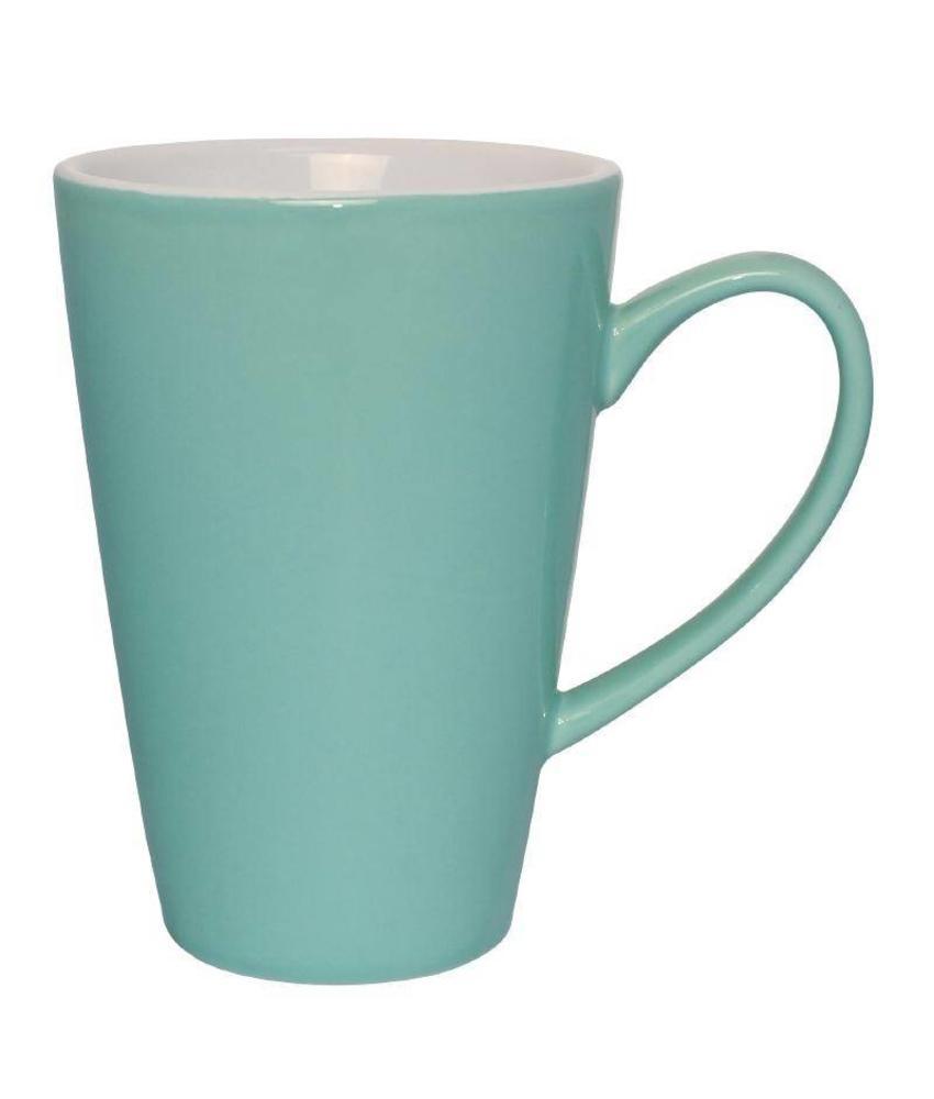 Olympia Olympia latte beker aqua 45cl 12 stuks