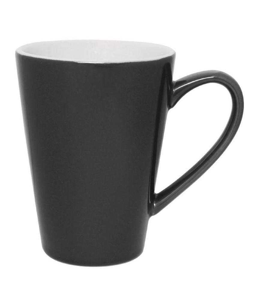 Olympia Olympia latte beker grijs 34cl 12 stuks