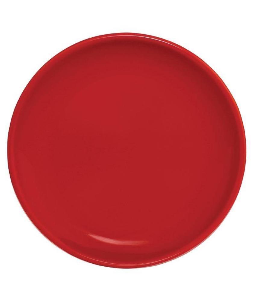 Olympia Olympia coupebord rood 20cm 12 stuks