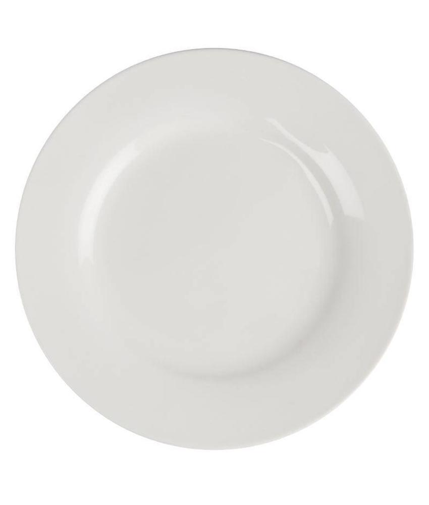 LUMINA Lumina borden met brede rand 27cm 4 stuks