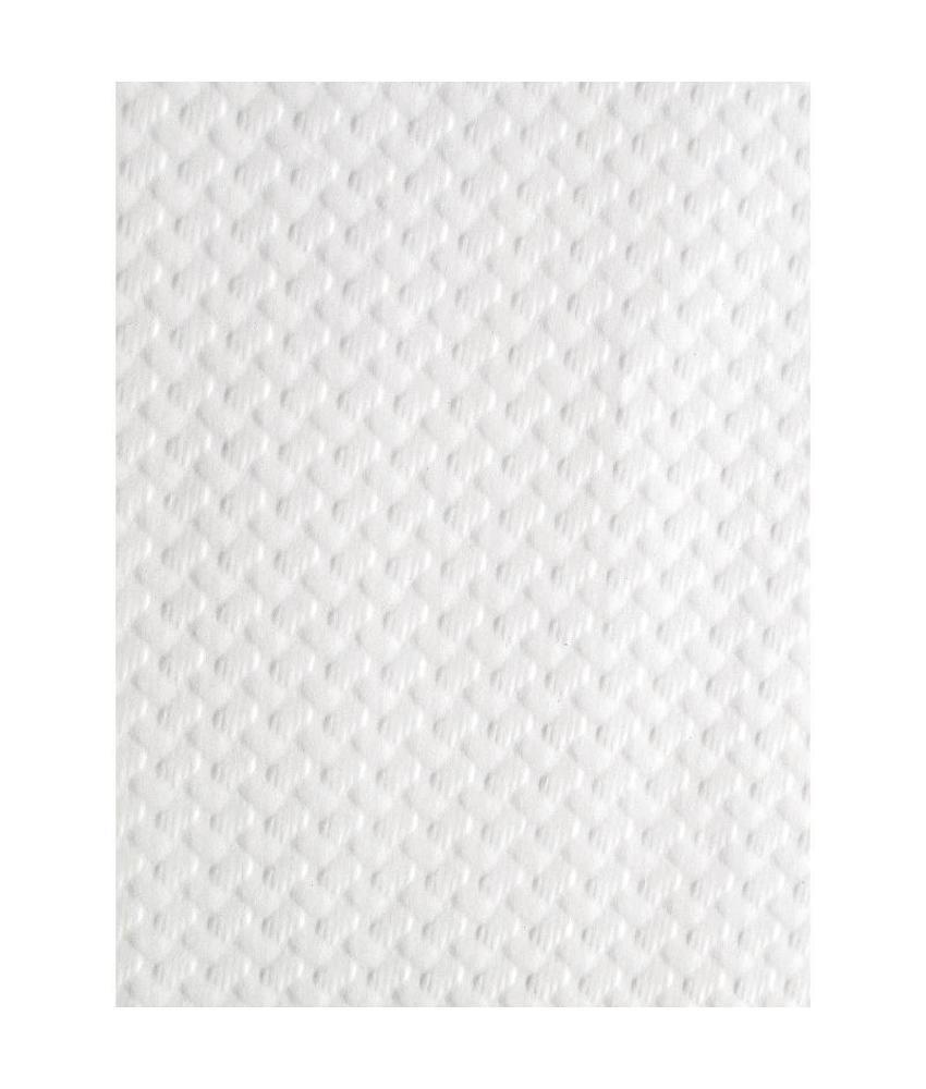 Papieren tafelkleed wit 500 stuks