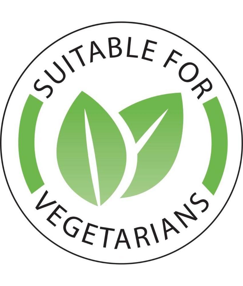 Vogue Vogue voedseletiketten 'Vegetarisch' 1000 stuks