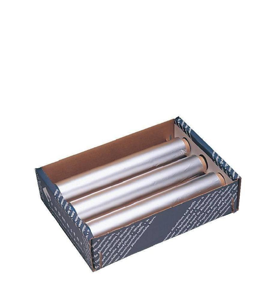 Wrapmaster Wrapmaster aluminiumfolie navulling 45cm 3 stuks