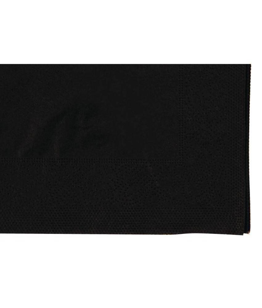 FASANA Zwarte servetten tbv F980 2000 stuks
