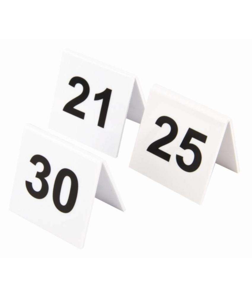 Olympia plastic tafelnummers 31-40