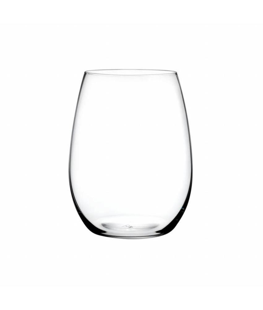 Nude Pure bordeaux glas 610 ml 6 stuk(s)