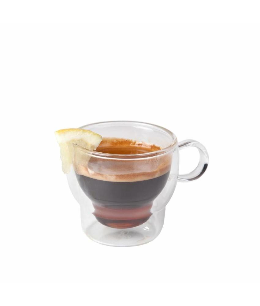 Stylepoint Koffie-theeglas dubbelwandig 120 ml 24 stuk(s)