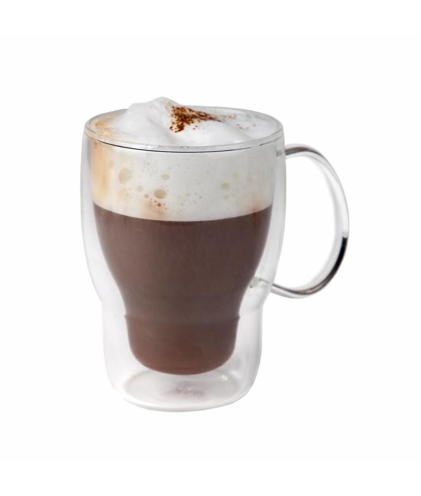 Stylepoint Koffie-theeglas dubbelwandig 400 ml 24 stuk(s)