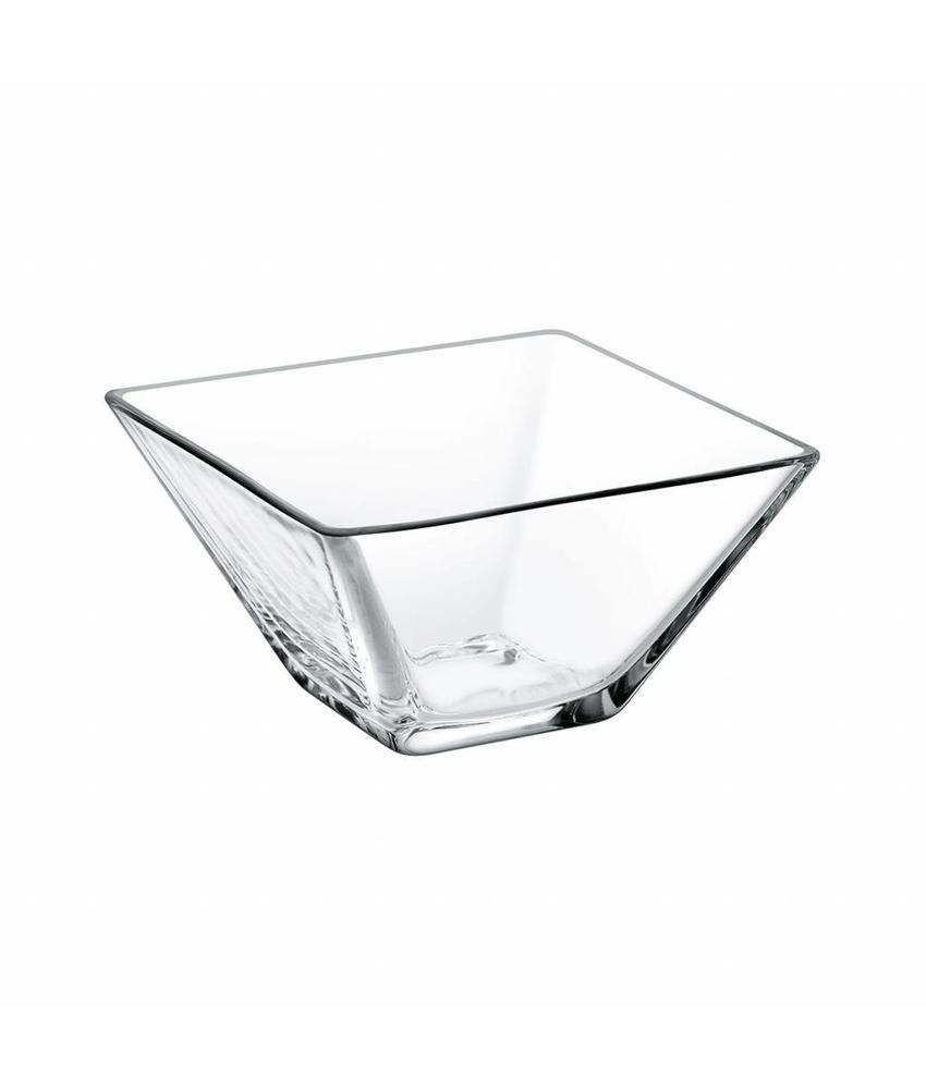 Stylepoint Glazen kom vierkant 10,5 cm   24 stuk(s)