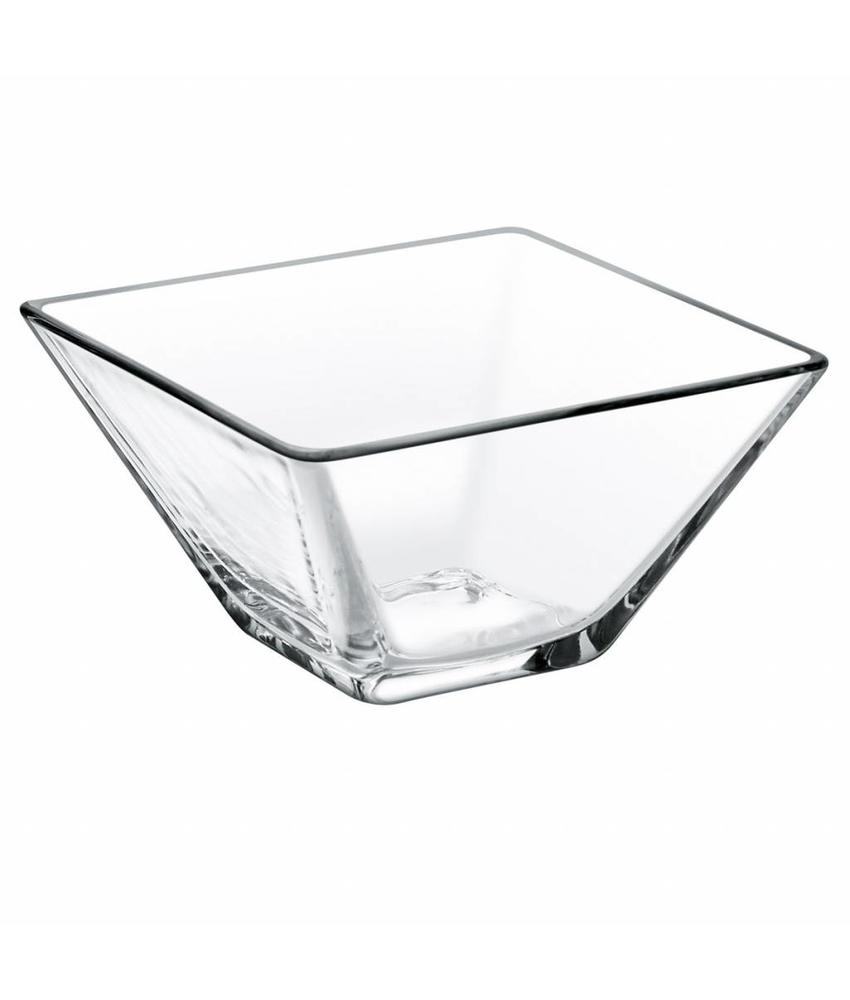 Stylepoint Glazen kom vierkant 8 cm 24 stuk(s)