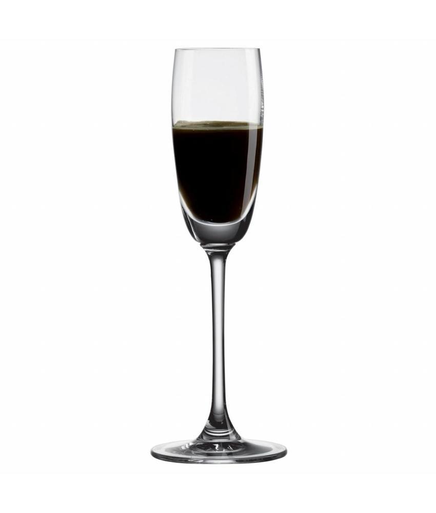 Nude Port/sherry/vermouth/grappaglas 80 ml 6 stuk(s)