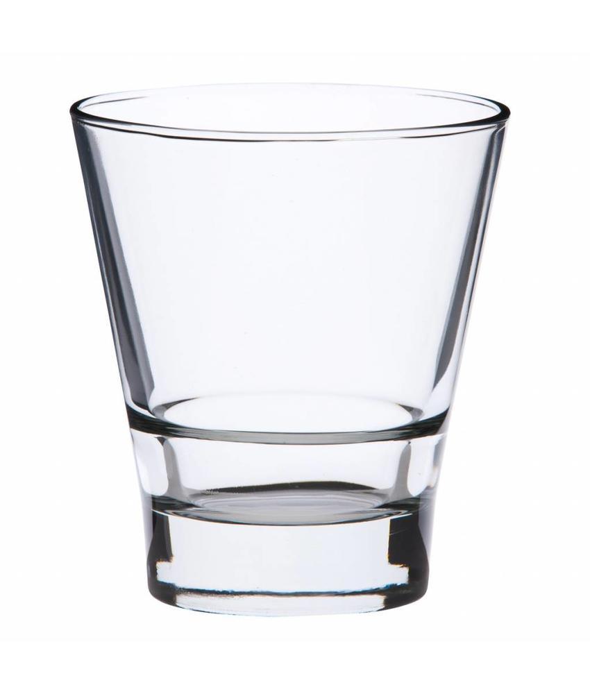 Stylepoint Conisch glas met stapelrand 265 ml 12 stuk(s)