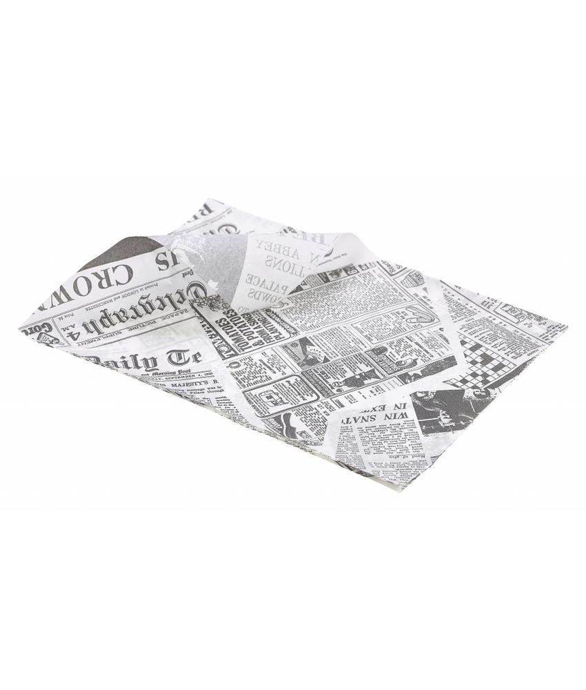 Stylepoint Vetvrij papier 'The Plaice To Be' 35 x 25cm 1000st 1 stuk(s)