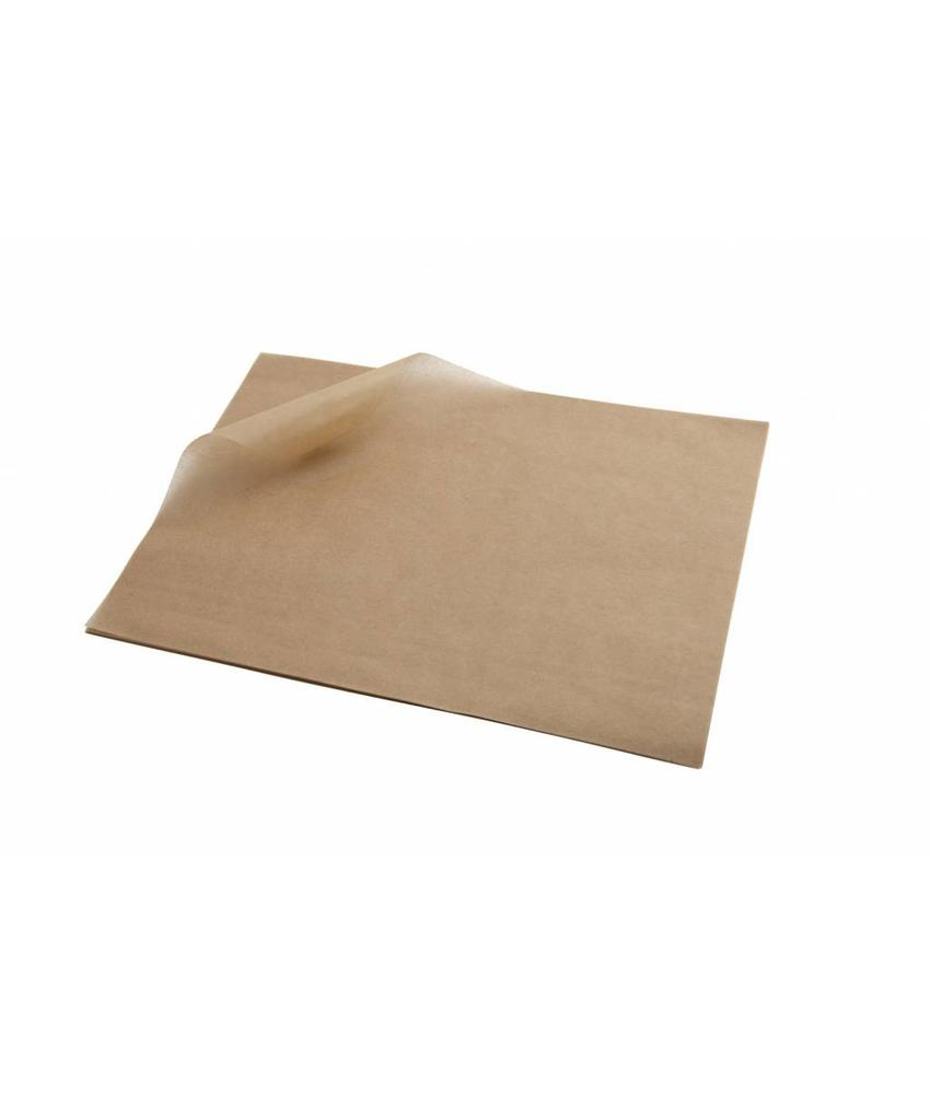 Stylepoint Vetvrij papier bruin 25 x 20 cm 1000st 1 stuk(s)