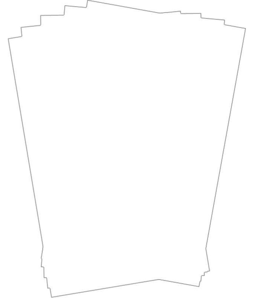 Stylepoint Vetvrij papier onbedrukt 25,5 x 40,5 cm 500st 1 stuk(s)