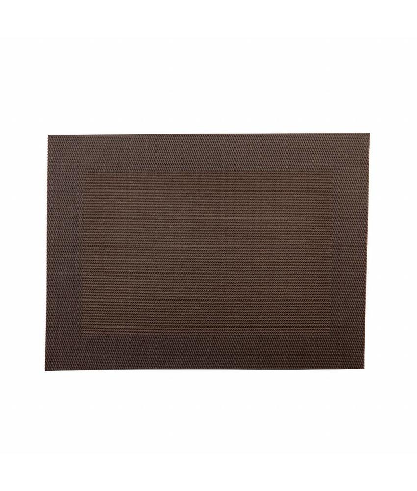 Stylepoint Placemat rechthoekig Bruin 45 x 33 cm 24 stuk(s)