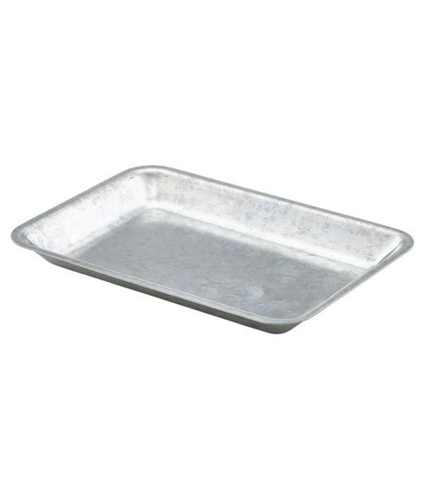 Stylepoint Gegalvanis. stalen serveerschaal rechth. 20 x 14cm 6 stuk(s)