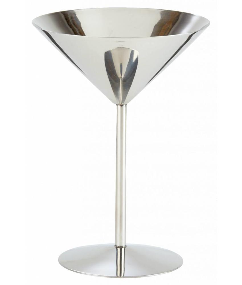 Stylepoint RVS martini glas hoge voet 220 ml 1 stuk(s)