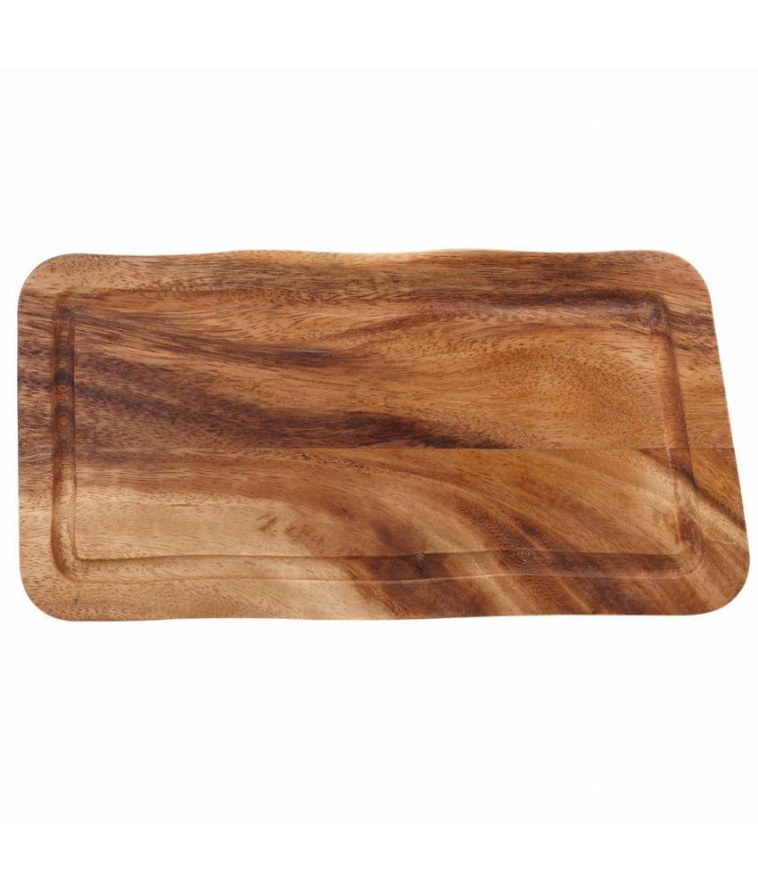 Stylepoint Rechthoekige plank met gleuf 30 x 15 x 2 cm   1 stuk(s)