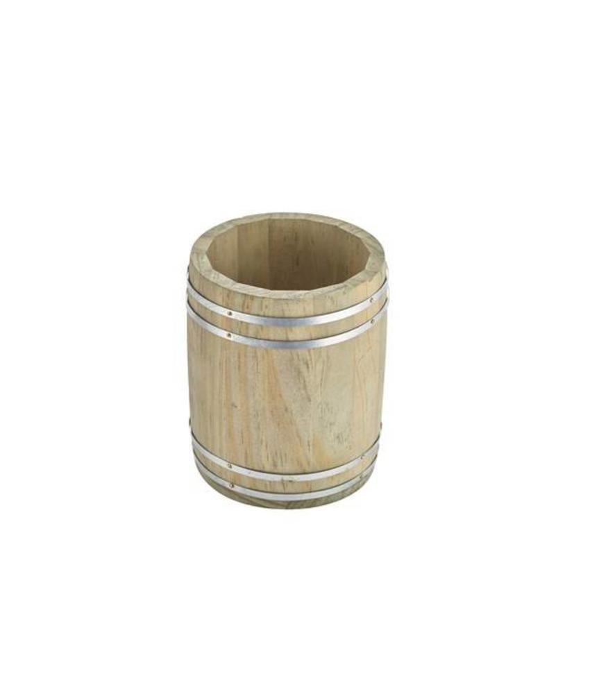 Stylepoint Houten vat 11,5 x 13,5 cm 10 stuk(s)