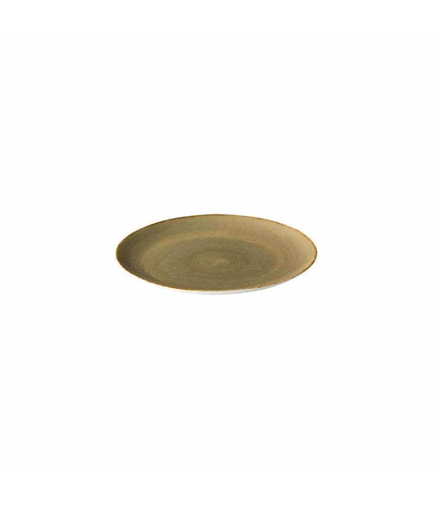 Q Authentic Sand Coupe bord reactive sand 21 cm                  6 stuk(s)