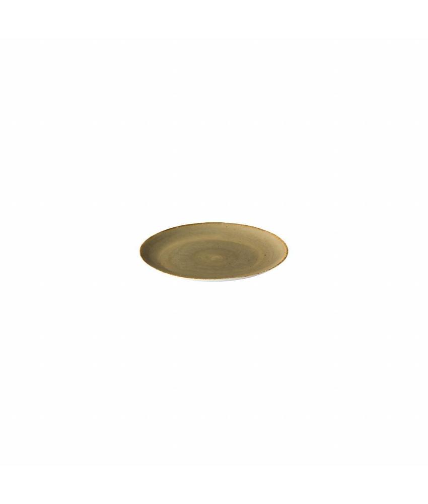 Q Authentic Sand Coupe bord reactive sand 15,5 cm                6 stuk(s)