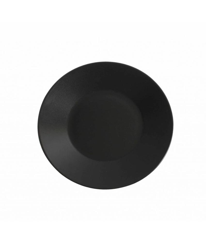 Stylepoint Aardewerk bord rond mat zwart 27,5 cm 12 stuk(s)