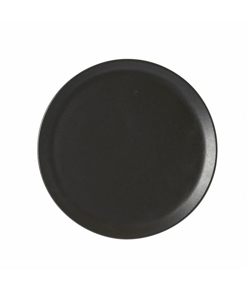 Porcelite Seasons  Graphite Pizzabord Graphite 32 cm 6 stuk(s)