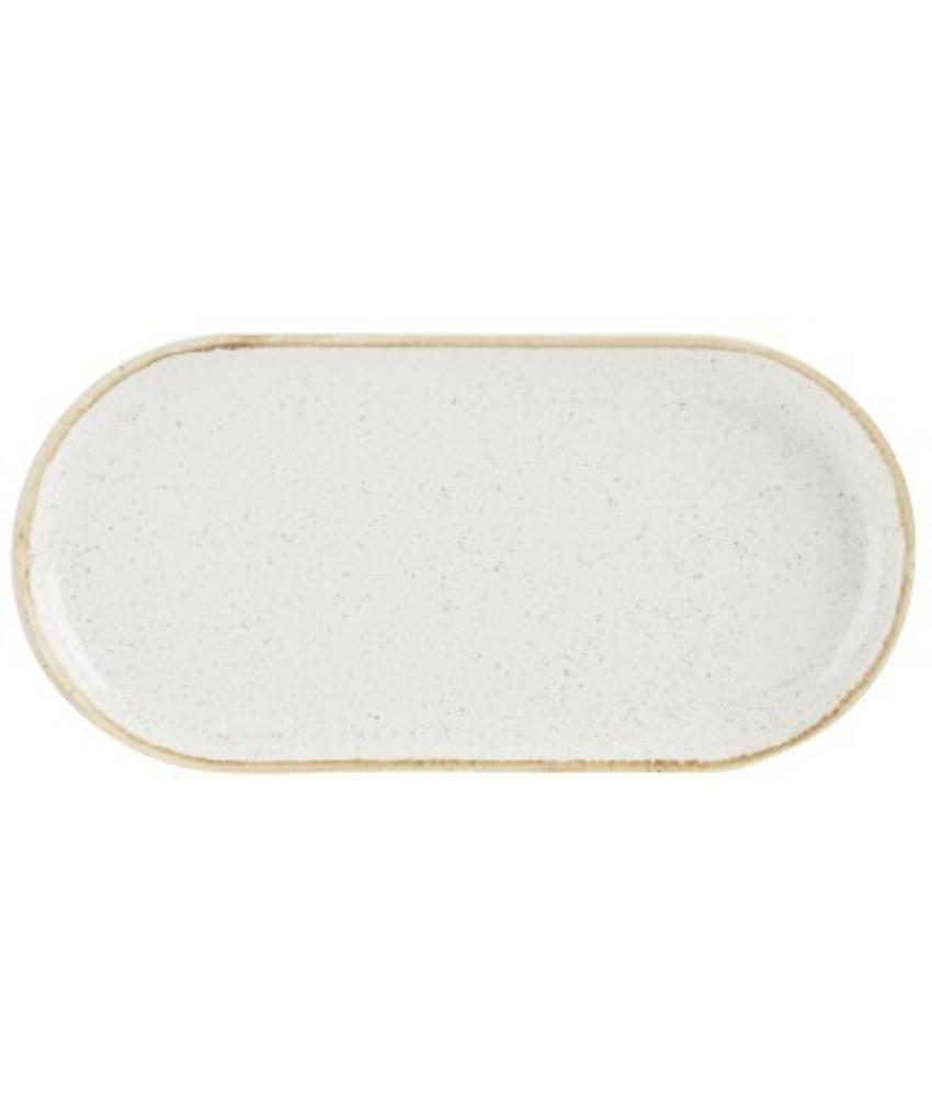 Porcelite Seasons Oatmeal Smal ovaal bord Oatmeal 30 cm 6 stuk(s)
