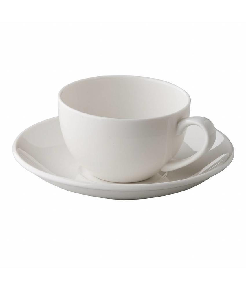 Q Fine China Alles-in-een Klassieke koffiekop 180 ml               24 stuk(s)