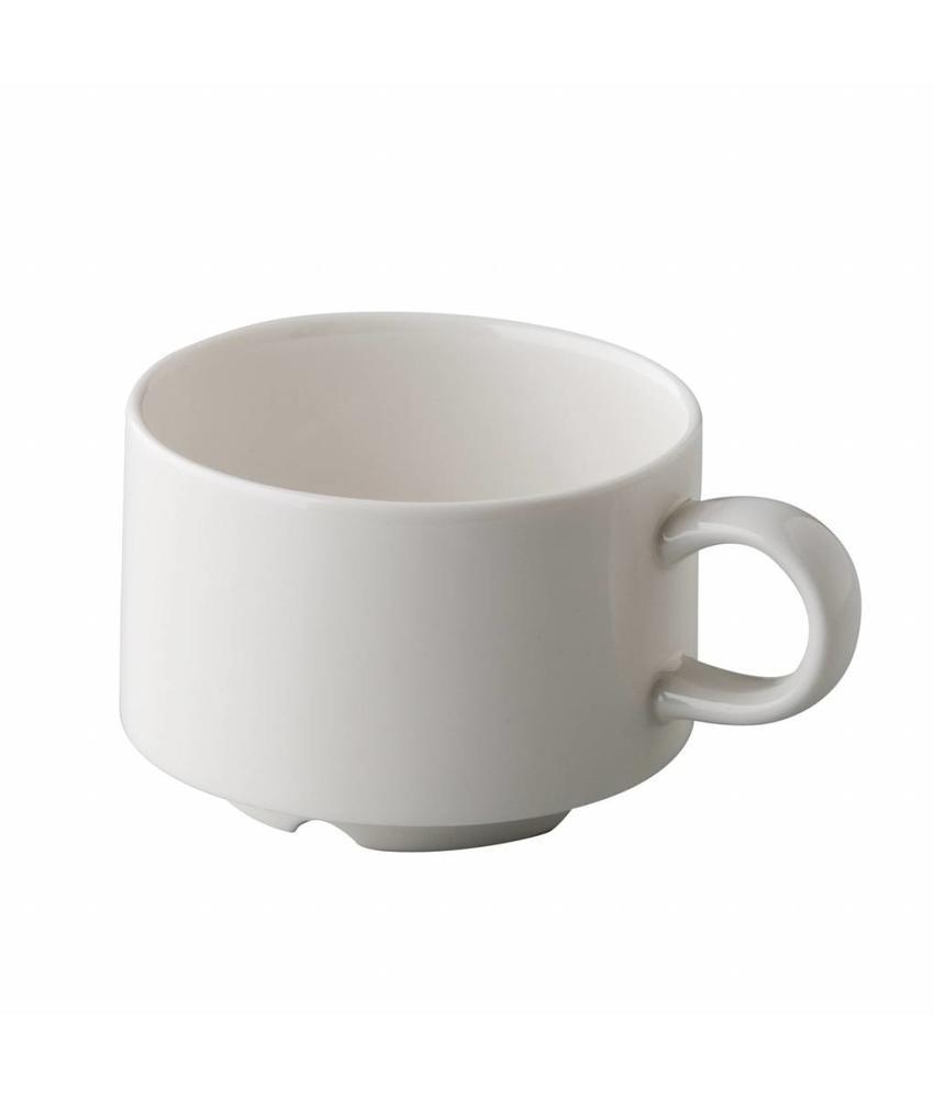 Q Fine China Alles-in-een Stapelbare koffiekop 165 ml              6 stuk(s)