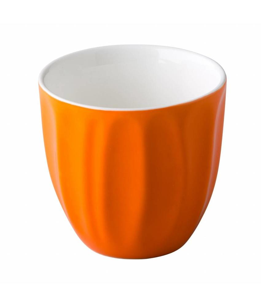 Stylepoint Stapelbare koffiekop zonder oor oranje 180 ml 6 stuk(s)