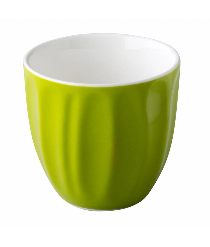 Stylepoint Stapelbare koffiekop zonder oor groen 180 ml   6 stuk(s)